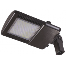 LED 150 Watt Knuckle Mount Slipfitter Parking Lot Area Light