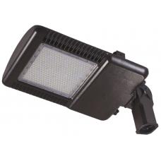LED 110 Watt Knuckle Mount Slipfitter Parking Lot Area Light