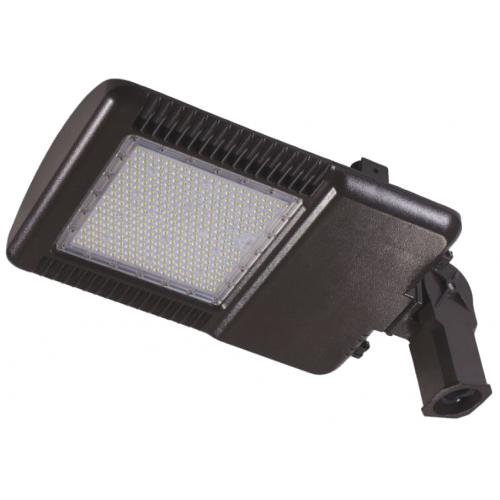 LED 150 Watt Knuckle Mount Slipfitter Parking Lot Area Light